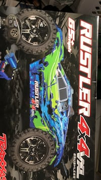 Blue and black rc toy car Arlington, 22201