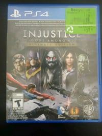 Injustice Ultimate Edition PlayStation 4 Toronto, M9W 3R9