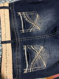 Blue denim straight cut jeans Woodbridge, 22191