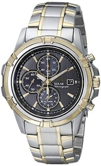 NEW Seiko Solar SSC142 Men's Chronograph Watch Toronto