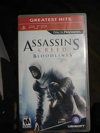 Assassin's creed Bloodlines Sony PSP game case
