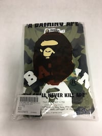 A Bathing ape 1st college tee  Annandale, 22003