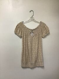 Women LUCKY BRAND 100% cotton stretch scoop neck top… Size small Manasquan, 08736