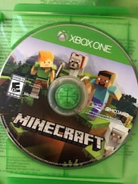 Minecraft Game for Xbox 1