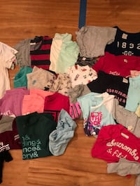 Girls size 10/12 clothes