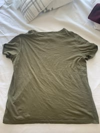 Olive green men's shirt Sterling, 20166