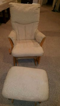 Rocking chair with ottoman $150.