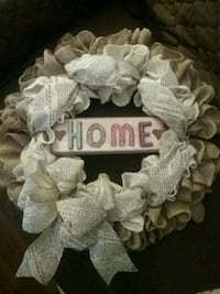 HOME wreath  Middle River, 21220