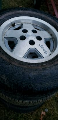Jeep rims and tires  Hagerstown, 21740