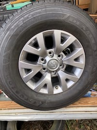 Original Toyota wheels and tires! Less than 100 miles on all 4 570 mi