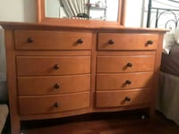Full Size Youth Wood Bedroom Set Floyd County