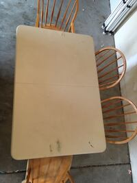 Table with 4 chairs Evans, 80634