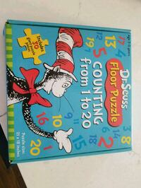 Dr. Suess floor puzzle Plymouth, 48170