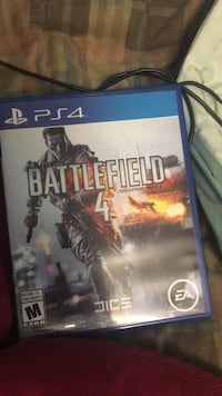 PS4 Battlefield 4 game case North Vancouver, V7G 2E8