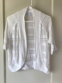 white and gray knitted sweater Modesto, 95350