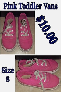 pink toddler vans - Hacienda Heights