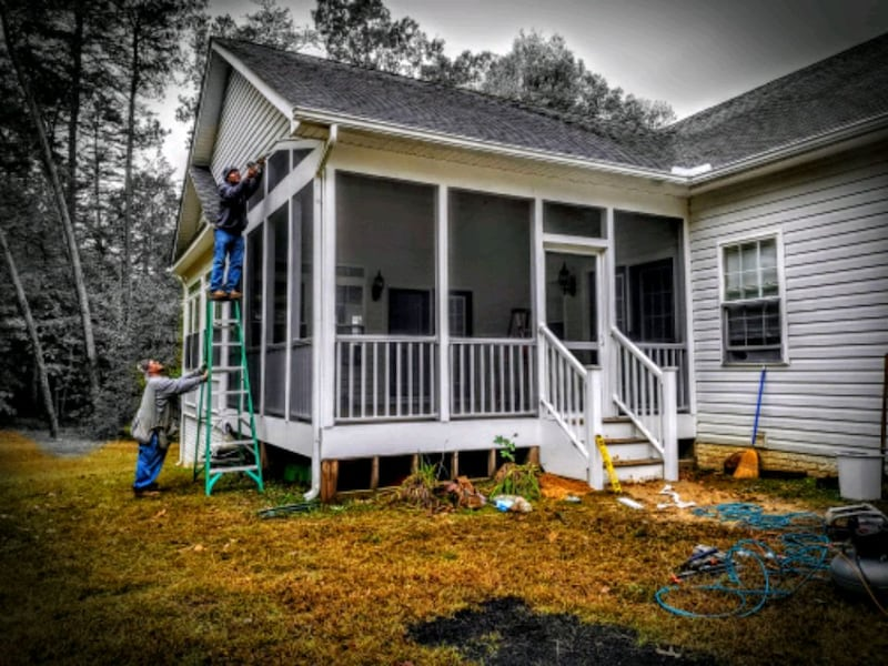Decks & Porches Additions Roofing Siding Windows 4
