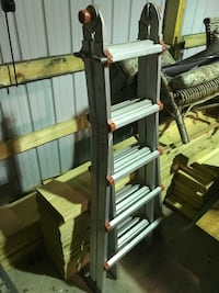 Little giant ladder. Great for steps for different angles Howell, 07731
