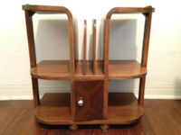 Art Deco wooden bookcase or table South Miami