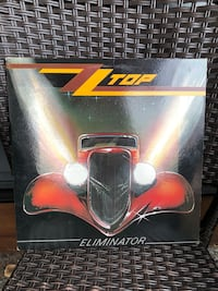 ZZ TOP ELIMINATOR LP .  Nanaimo, V9T 2N6