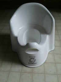 white potty chair