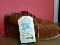 pair of brown suede shoes Pickering, L1X 2L1