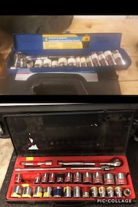 """3/8"""" and 1/2"""" socket set.  Both for 50 Edmonton, T5Y 0C3"""