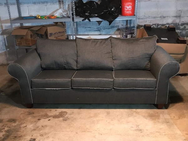 Gray Sofa Bed Pull Out Couch