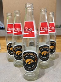 1981 Iowa Hawkeyes Coke Bottles Gretna, 68028