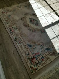 white and red floral area rug Cupertino, 95014