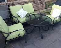 black and green patio set Niagara Falls, L2J 3V8