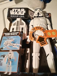 Star Wars Rouge One Storm Troopers action figure package