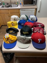 Hats (Mostly, one size fits all snapbacks)