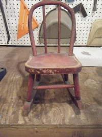 Antique Doll Rocking Chair