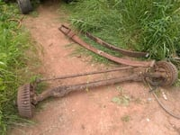 69 Chevy van straight axle with springs complete