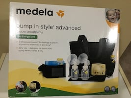 Double breast pump. Medela brand