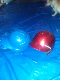 red and blue baseball helmets Pearl, 39208