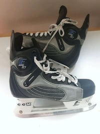 pair of black-and-gray Bauer ice skates Edmonton, T5H 3Z2