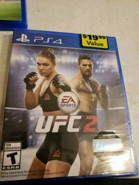 UFC 2 ps4 game unopened  Fullerton, 92831