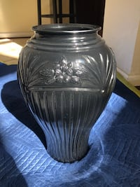 Rare! Black Cambridge 16 in./ 406 mm Vase (Anchor Hocking) Fort Washington, 20744