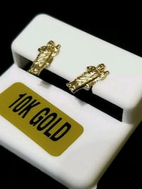 gold apostle earrings... solid gold Charlotte, 28202
