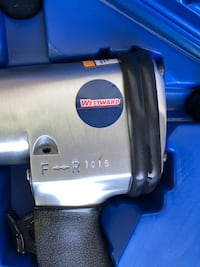 Air Impact Wrench- Westward Air Impact Wrench Kit,1/2 in,7000 RPM Gilbert, 85295