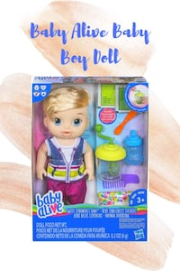 Baby Alive Sweet Spoonfuls Blonde Baby Doll Boy  Falls Church, 22041
