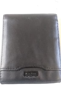 Wallet Kenneth Cole reaction leather black wallet