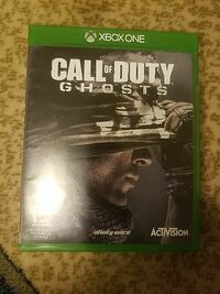 Call of Duty Ghosts Xbox One game case Manassas, 20110