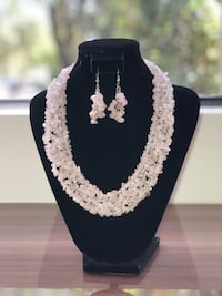silver-colored and white pearl necklace Coral Gables, 33146