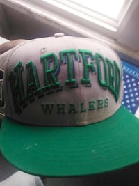 86b83166 Used gray and green hartford whalers snapback cap for sale in ...