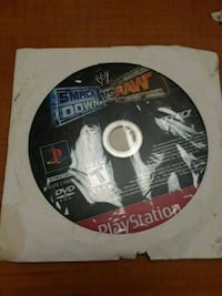 PlayStation 2 Video Game Smack Down Vs Raw