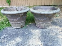 2 planters top diameter = 15 inches. Height = 13 s Frederick, 21701