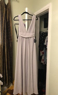 Light grey prom dress  Toronto, M3B